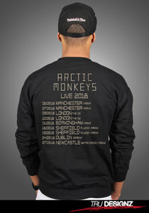 Arctic Monkeys 2018 Uk Tour Dates Sweatshirt