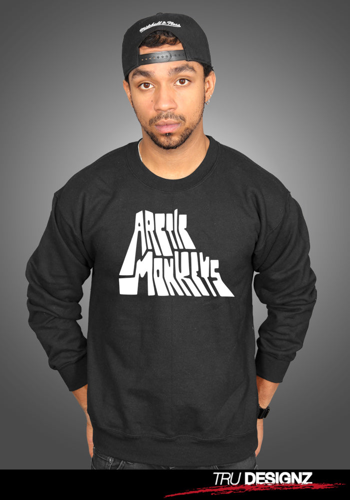 Arctic Monkeys Block 2018 Logo Sweatshirt