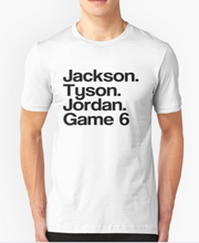 Jackson Jordan tyson game 6 lyrics T-Shirt