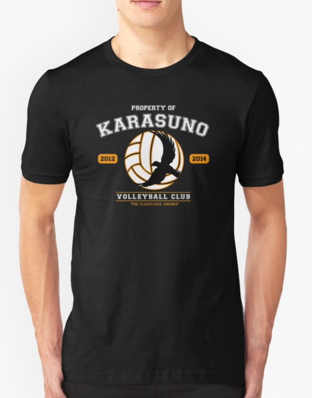 Karasuno High Volleyball Club Anime Tshirt