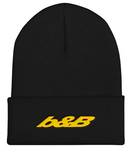 Post Malone B and B logo beerbongs and bentleys Beanie Hat