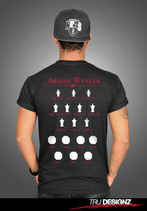 Arsene Wenger History Graphic T-Shirt