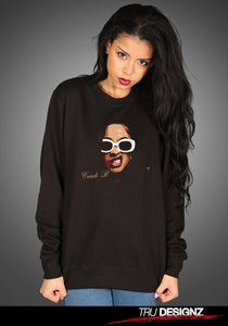 Cardi B Sunglasses Graphic Sweatshirt