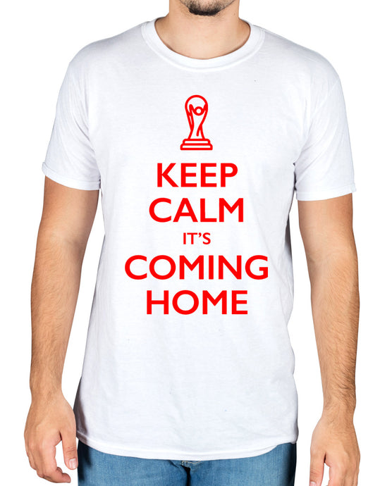 Keep Calm and Its Coming Home England football World Cup 2018 T-Shirt