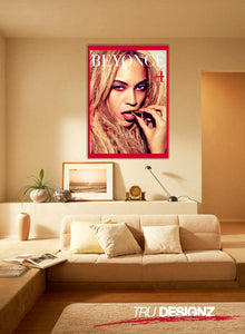 Beyonce 4 Blonde Country  Poster