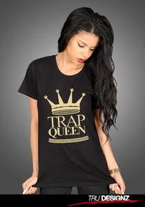 Fetty Wap Trap Queen Logo Women's T-Shirt