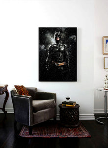 Batman The Dark Knight All Black Poster
