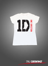 1D One Direction Womens T-Shirt