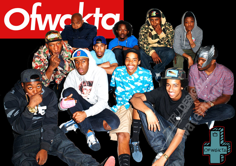 Ofwgkta Group Black Poster