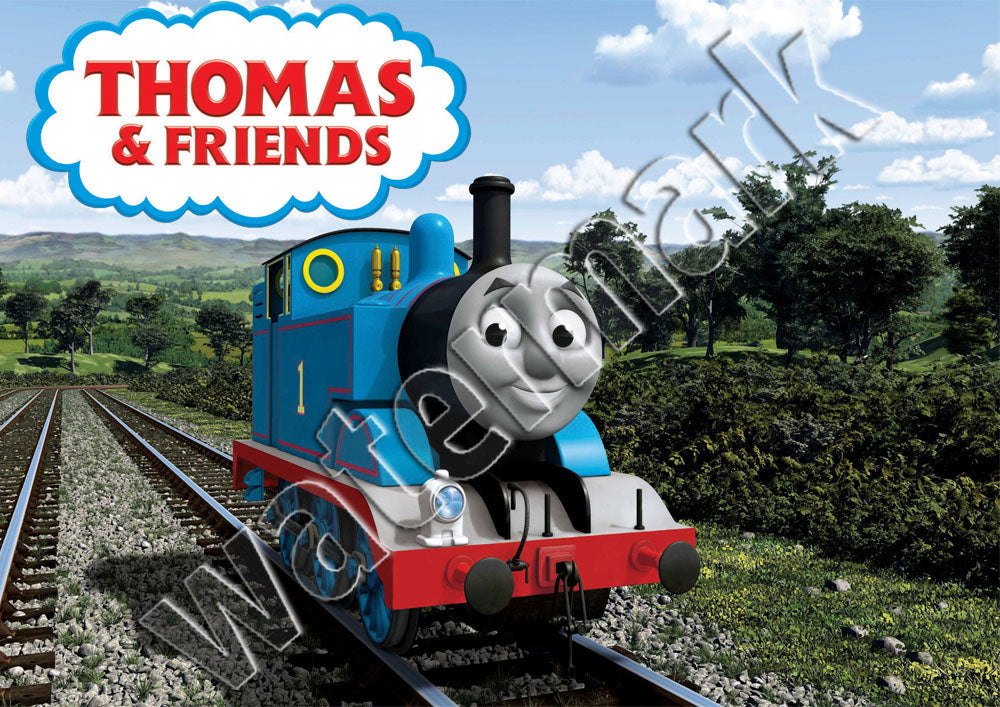 Thomas The Tank Engine & Friends Cartoon Poster