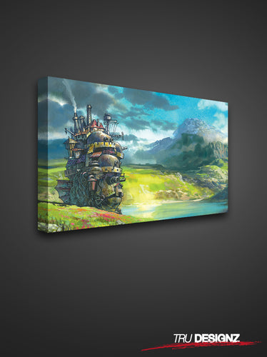 Studio Ghibli Howl's Moving Castle Canvas
