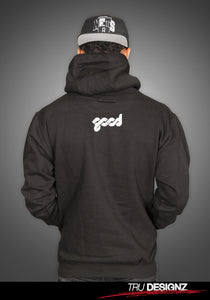 Good Music Records Angel Logo Hoodie