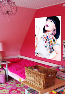 Jessie J Stand Up Button Cap Poster
