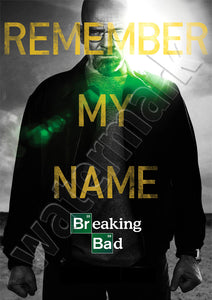 Breaking Bad Remember My Name New Season Poster