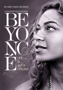 Beyonce Life Is But A Dream Documentary Poster