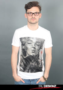 **Sale** Marilyn Monroe Selfie Hipster Graphic T-Shirt