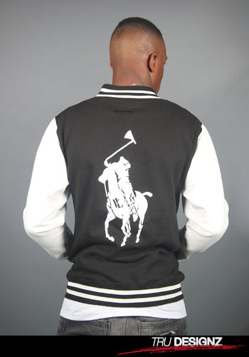 Jim Jones VL Horseman Varsity Jacket
