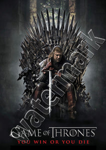 Game Of Thrones You Win Or You Die Poster