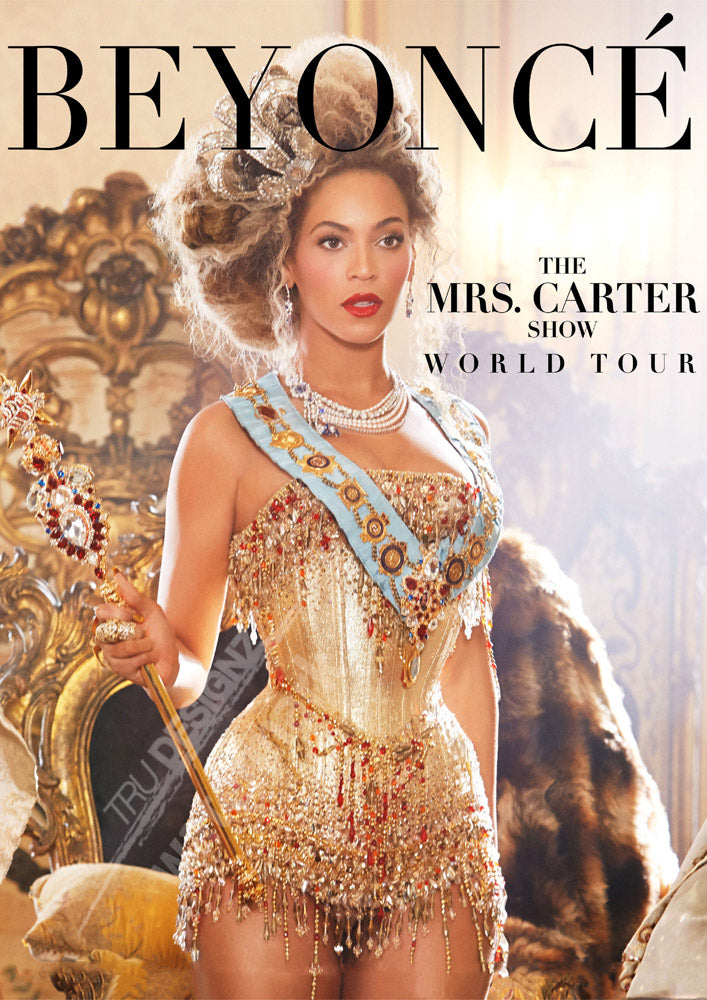 Beyonce Mrs Carter World Tour Poster