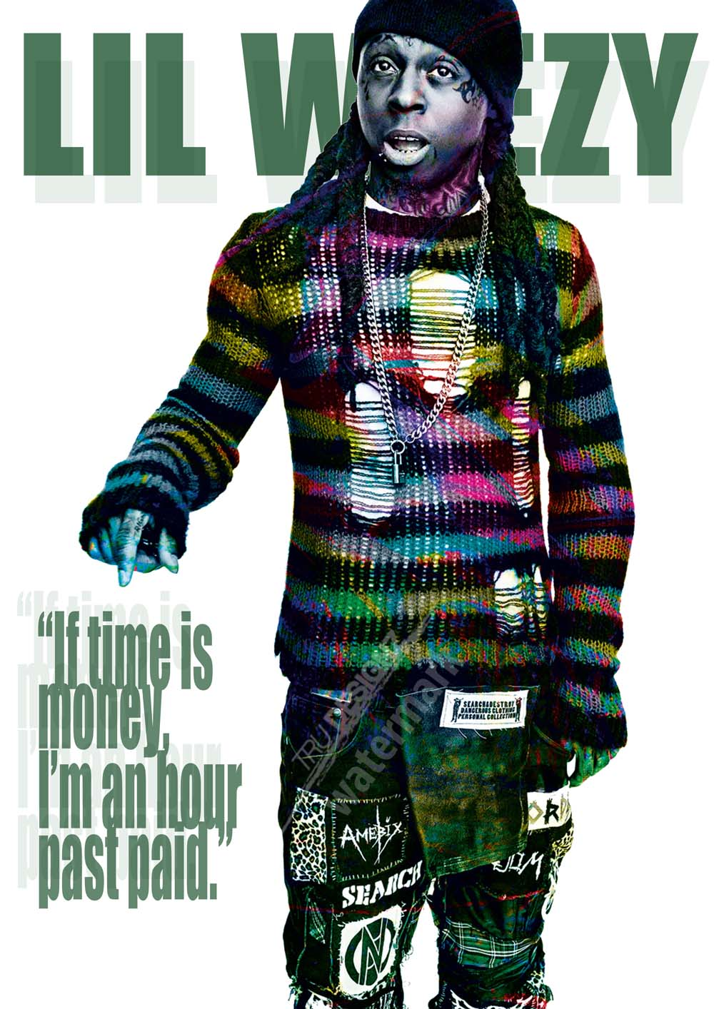 Lil Wayne Lil Weezy Poster