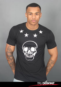 **Sale** French Montana Coke Boys Star Skull T-Shirt