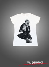 Rihanna Leather jacket Graphic Women's T-Shirt