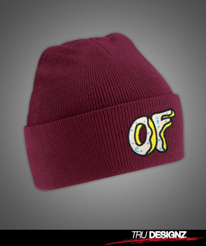 OFWGKTA Odd Future OF Donut Beanie Hat