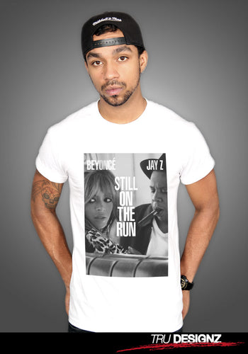 Still On The Run Beyonce & Jay Z Graphic T-Shirt
