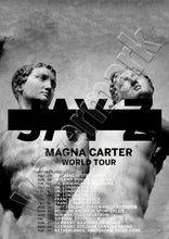 Jay Z Magna Carta Holy Grail World Tour Dates Poster