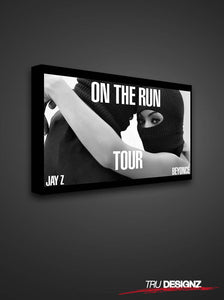 Jay Z & Beyonce On The Run Tour Poster