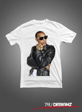 Tyga Leather Jacket Graphic T-Shirt