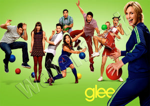 Glee Season 3 Trailer TV Show Poster