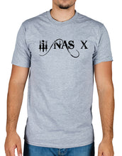 Lil Nas X text logo T-Shirt