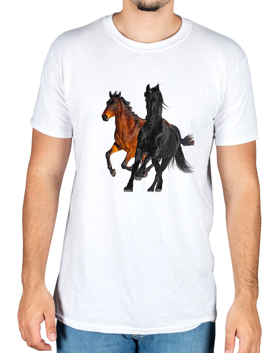 Lil Nas X Horse Graphic T-Shirt