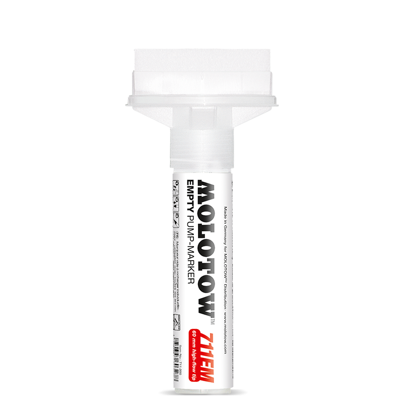 MOLOTOW™ MASTERPIECE™ EMPTY MARKER 711EM 60 MM