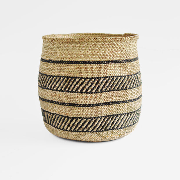 Iringa Black Accent Grass Basket