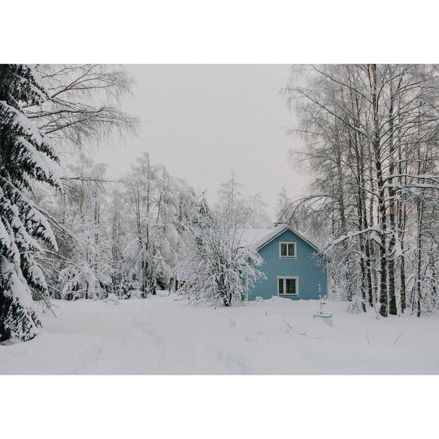 Blue House, Finland By Peggy Saas