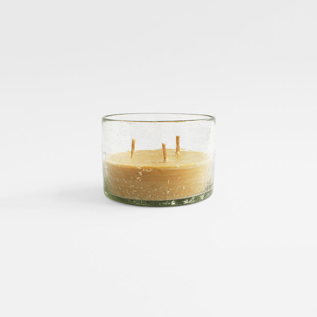Cracked Glass Candle