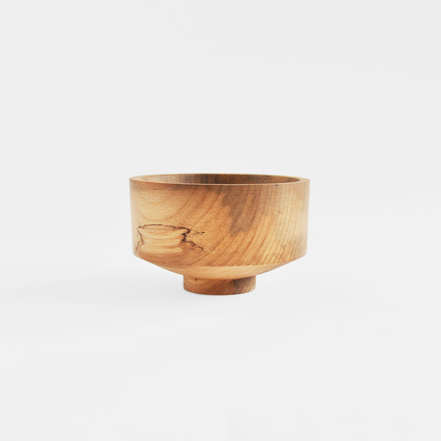 Medium Pot in Beech Wood