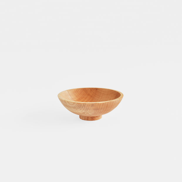 Cereal Bowl In Maple