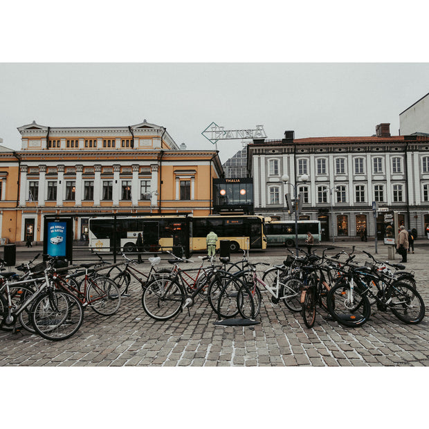 Market Square, Turku Finland by Peggy Saas