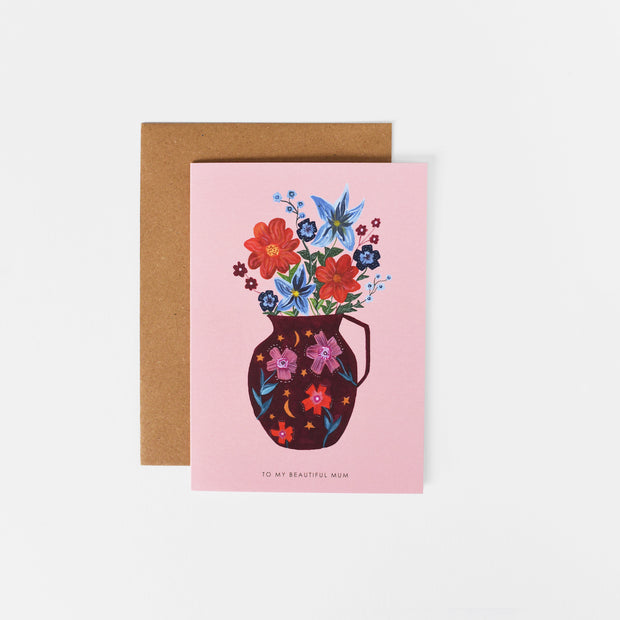 Mother's Day Vase Card