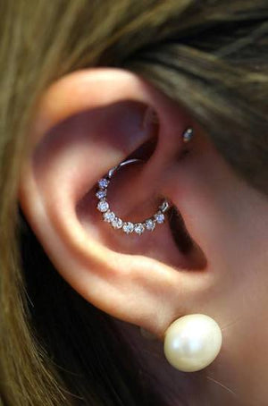 Daith Piercing , How it Works
