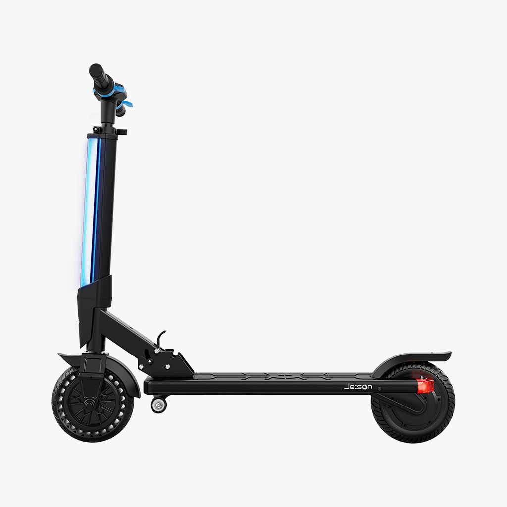 Folding Electric Scooter >> Jetson Bio Folding Electric Scooter Jetson Electric Bikes