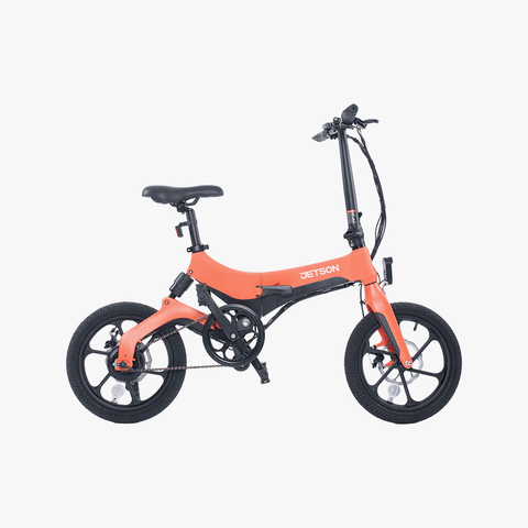 Metro Folding Electric Bike Coral