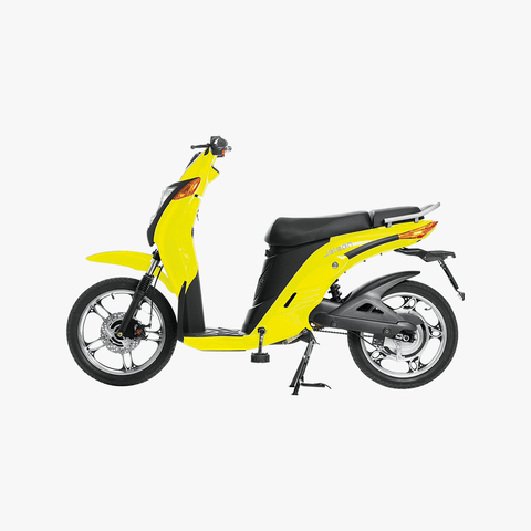 Gen 1 Electric Bike Yellow