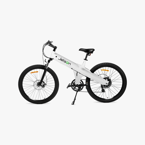 MTB Electric Bike White