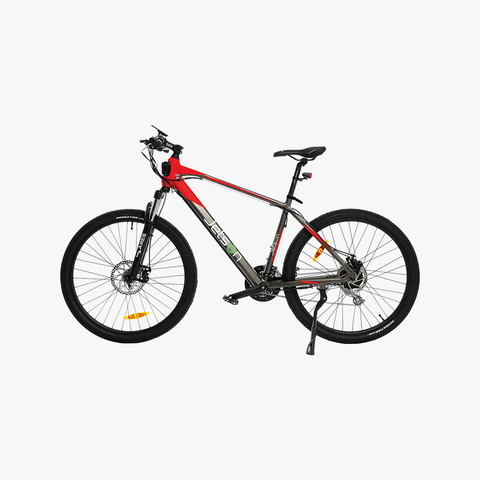 Adventure Electric Bike Black/Red