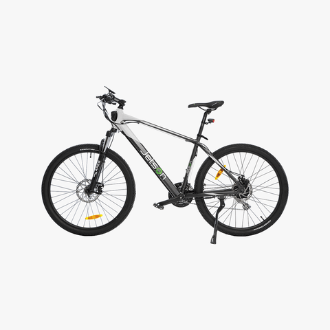 Adventure Electric Bike Silver