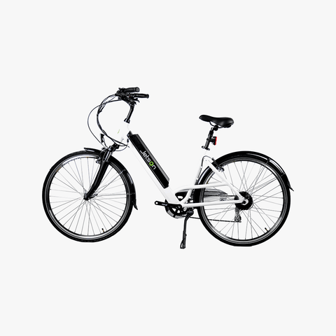 Cruiser Electric Bike White